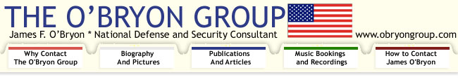 The O'Bryon Group: National Defense and Security Consultants